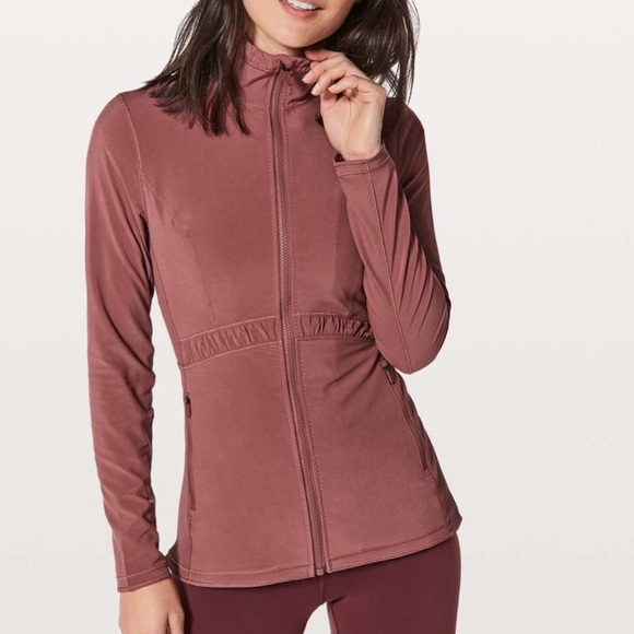 lululemon athletica Jackets & Blazers - Lululemon Round Trip Jacket in Misty Merlot